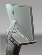 back imac floor stand
